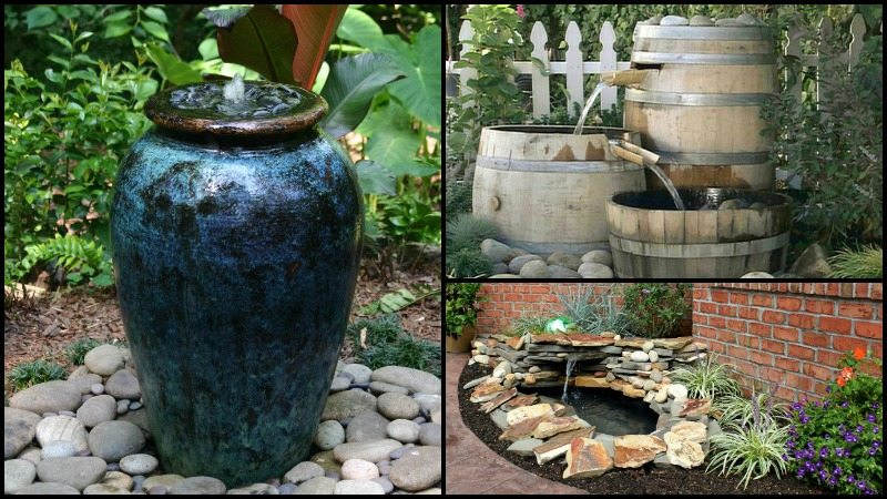 Diy garden fountain the owner builder network for How to make an outdoor fountain