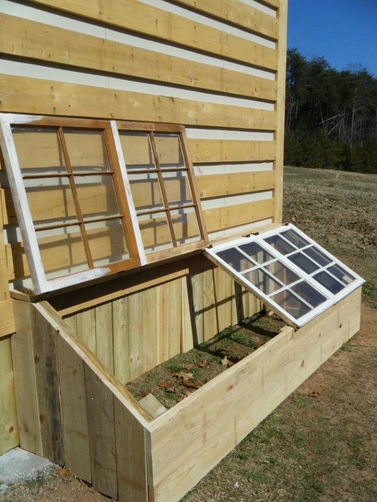 build a mini greenhouse and extend your growing season the owner builder network. Black Bedroom Furniture Sets. Home Design Ideas