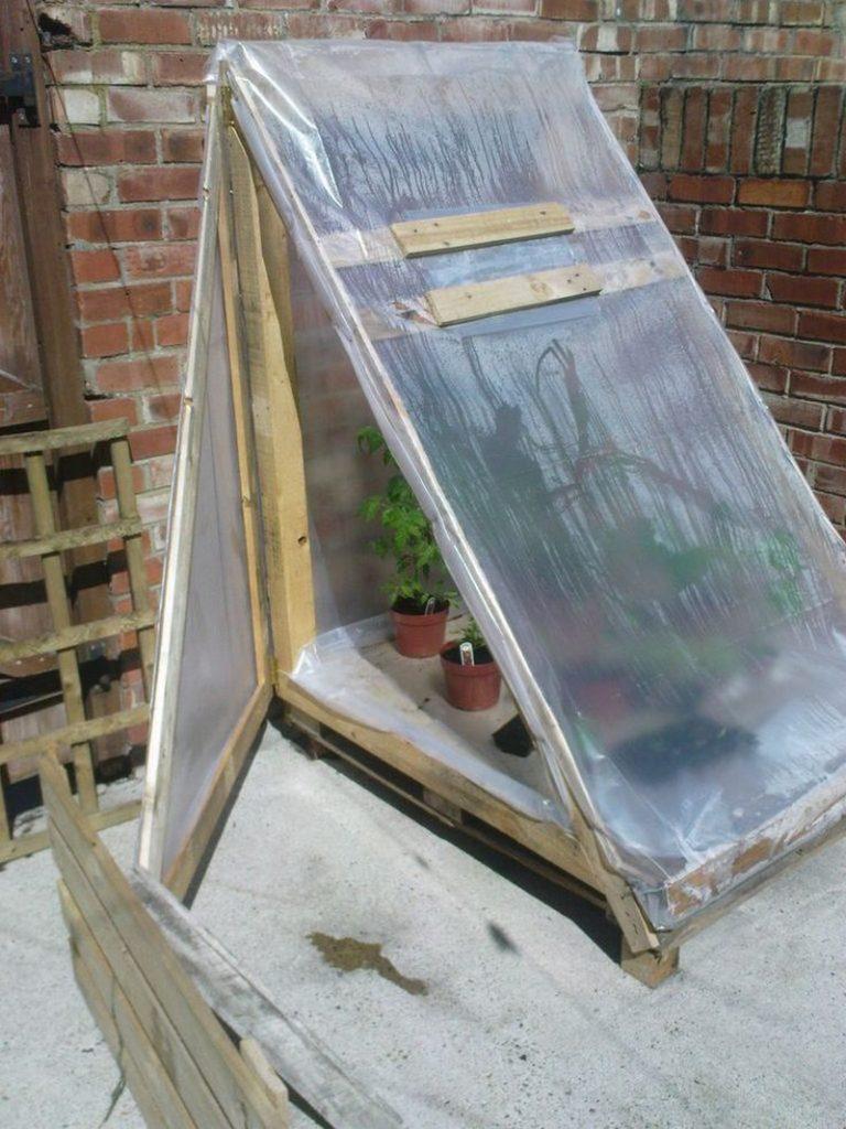 DIY Mini Greenhouse