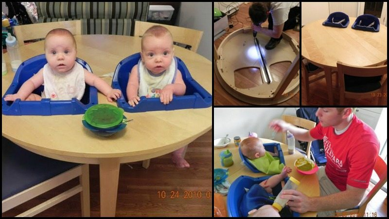 DIY Twin High Chair Main Image