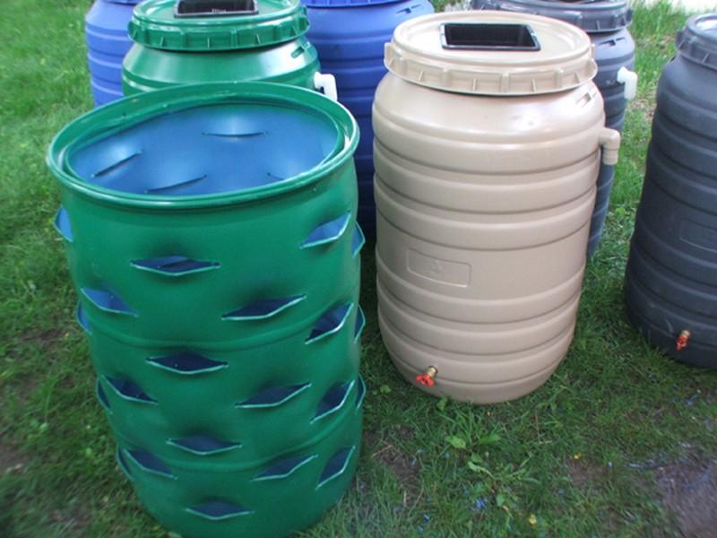 Ordinaire DIY Barrel Planter