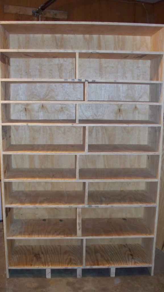 DIY Canned Food Cabinet - Finish Canned Food Cabinet