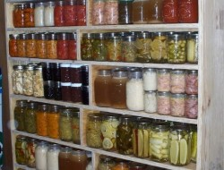 DIY Canned Food Cabinet - Canned Food Cabinet