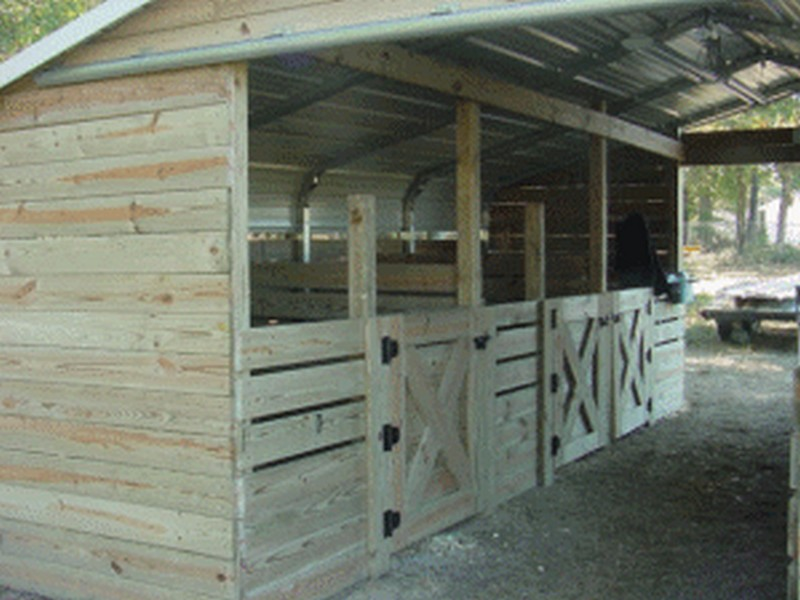 Turn a Carport Into a Barn