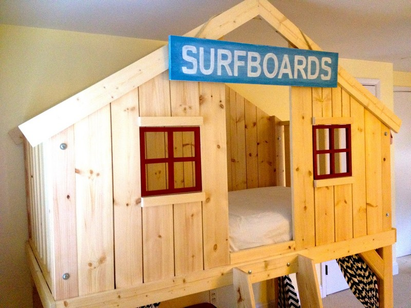Do It Yourself Clubhouse : Diy clubhouse bed the owner builder network