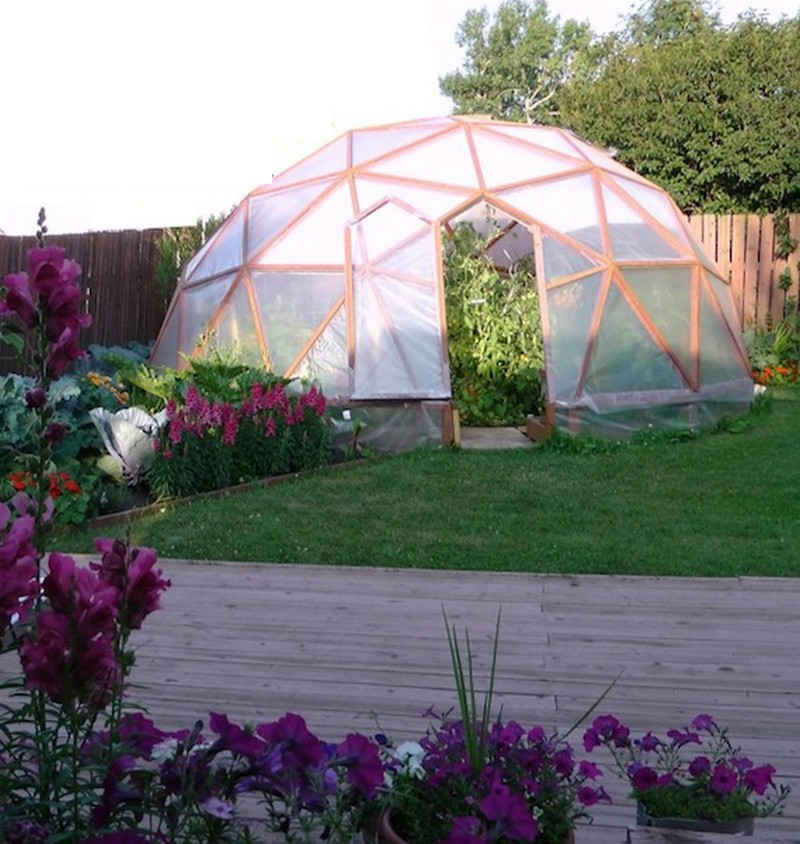 Geodesic Dome Greenhouse — Benefits and How-To