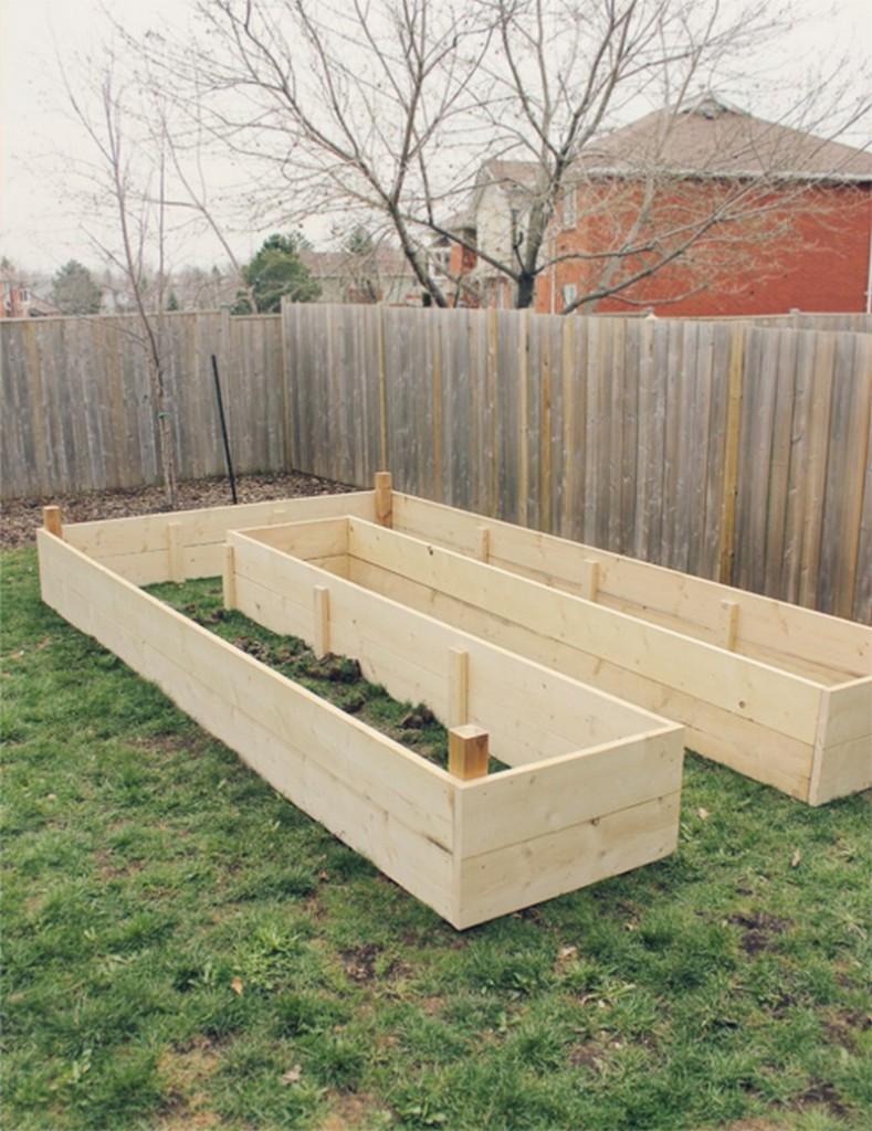 DIY Easy Access Raised Garden Bed - 24 inch Raised Garden