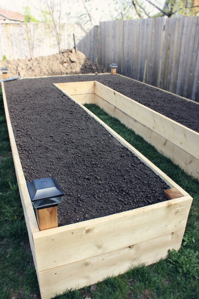 diy easy access raised garden bed, Natural flower