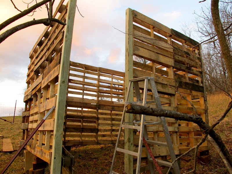 How To Make A Goat Barn From Pallets The Owner Builder