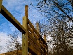 DIY Goat Pallet Barn - Building the roof