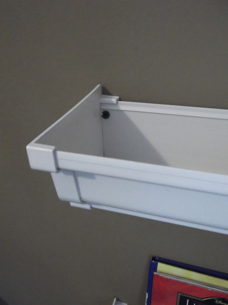 DIY Gutter Bookshelf – The Owner-Builder Network