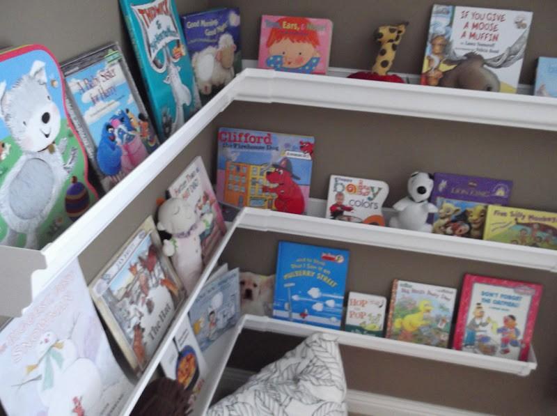 Diy Gutter Bookshelf The Owner Builder Network