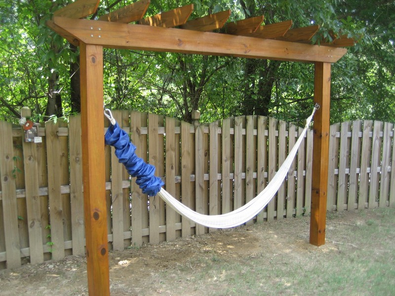 diy hammock stand relax in your yard even without trees diy hammock stand    how to  rh   theownerbuilder work co