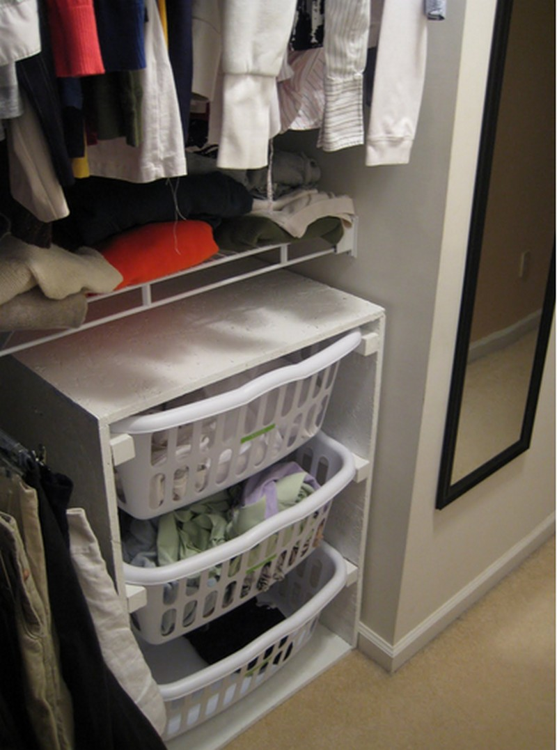 DIY Laundry Basket Dresser - Finish Laundry Basket Dresser