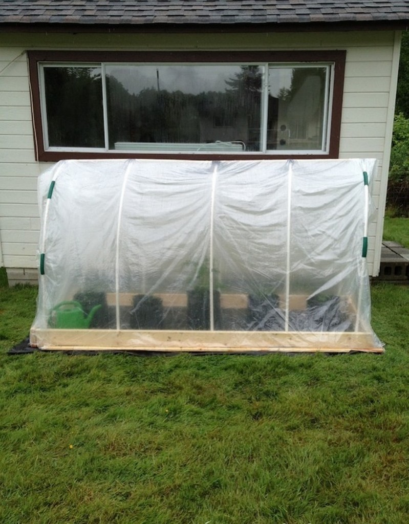 DIY Raised Garden Bed Cover