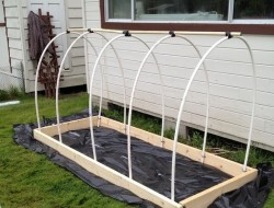 DIY Raised Garden Bed Cover