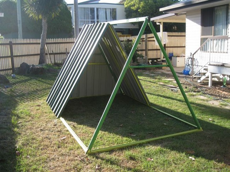 DIY Repurposed Swing Set Chicken Coop | The Owner-Builder Network