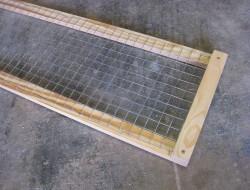 DIY Screened Raised Garden Bed