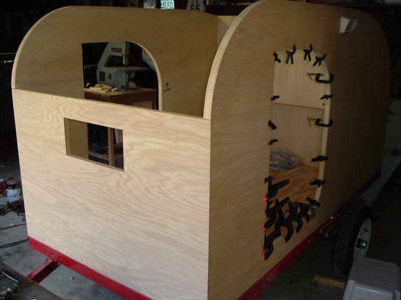 Build your own teardrop trailer from the ground up – The