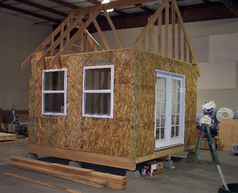 DIY Tiny Cottage - Windows and doors