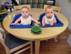 DIY Twin High Chair