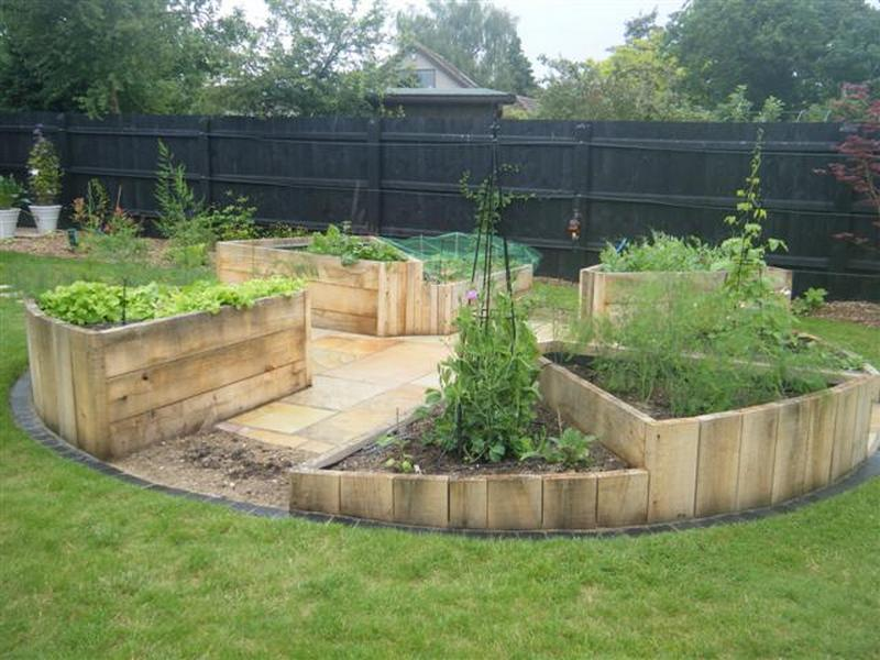 deep green permaculture picture instructions beds garden diy raised