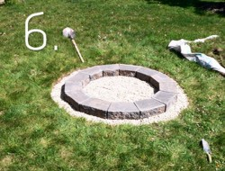 Fire Pit How-To - Step 6