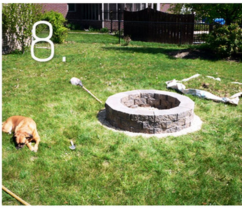 Fire Pit How-To - Step 8