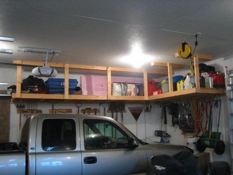 DIY Garage Ceiling Storage