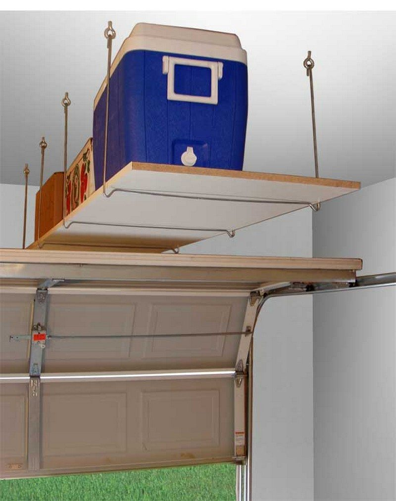 DIY Garage Ceiling Storage How To Make A