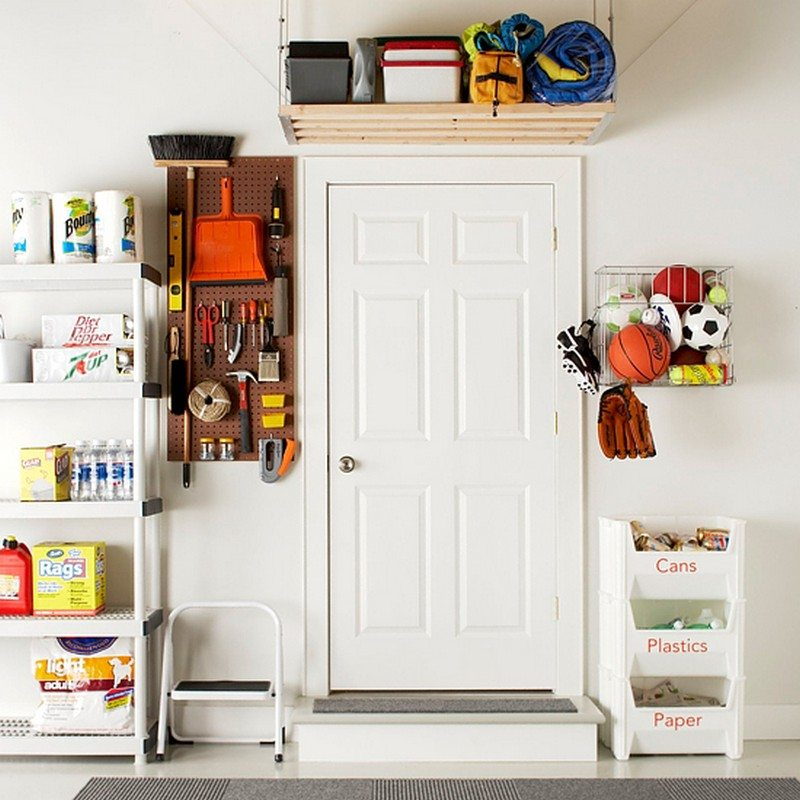 Diy Garage Storage Ideas Projects: DIY Garage Ceiling Storage
