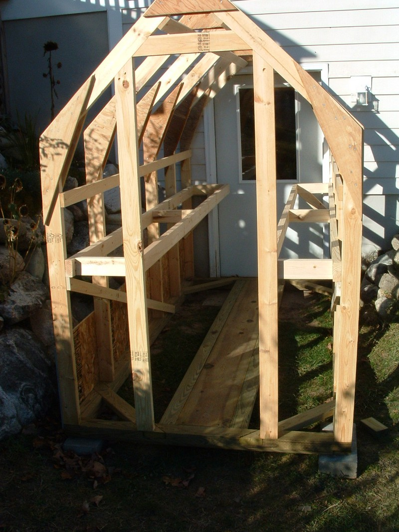 Homemade Greenhouse The Owner Builder Network