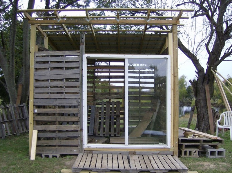 How To Build A Diy Pallet Shed The Owner Builder Network