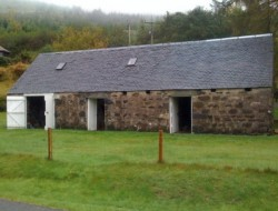 Leachachan Barn - The original barn