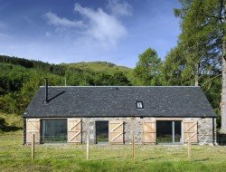 Leachachan Barn - The new 'barn'