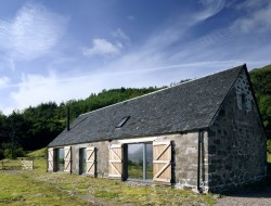 Leachachan Barn - All the original stonework was retained