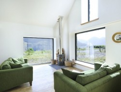 Leachachan Barn - Living area