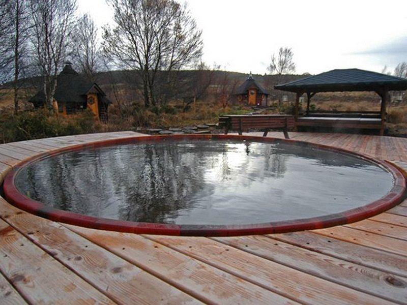 livestock tank turned diy pool the owner builder network. Black Bedroom Furniture Sets. Home Design Ideas