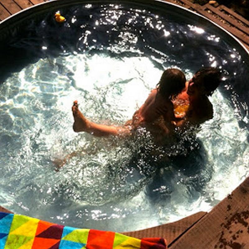 Livestock Tank Turned DIY Pool - Tank-made Pool