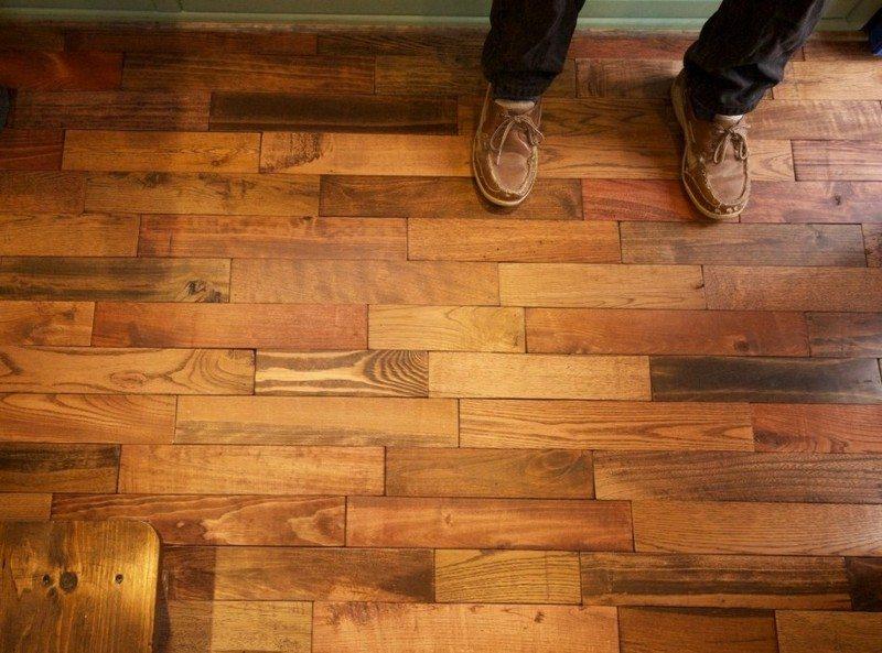 Diy Pallet Flooring The Owner Builder Network