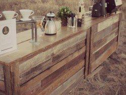 Pallet Outdoor Bar