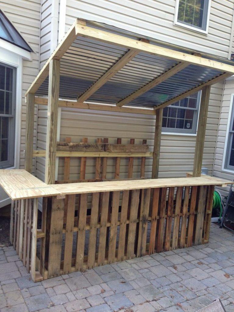 Diy Pallet Outdoor Furniture Backyards