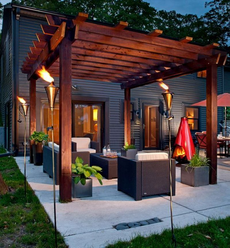 Backyard With Pergola diy backyard pergola | the owner-builder network