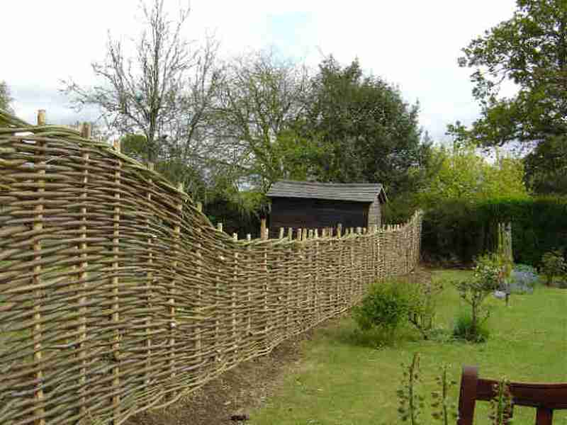 Diy Pine Wattle Fence The Owner Builder Network