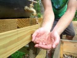 DIY Rain Barrel System - Water towers