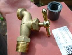 DIY Rain Barrel System - Faucet