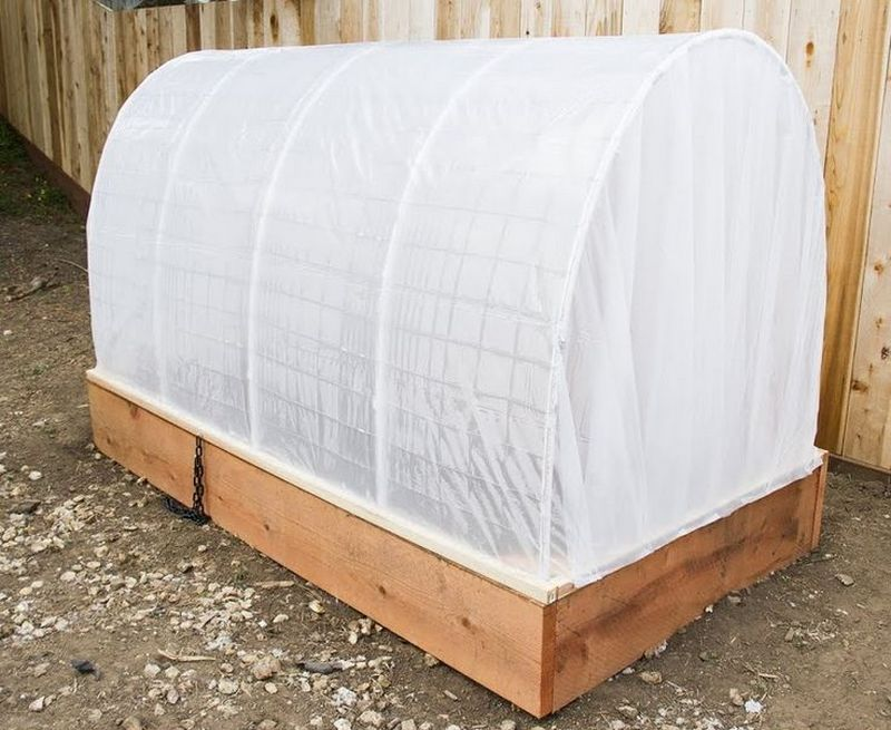 Raised Garden Bed Cover
