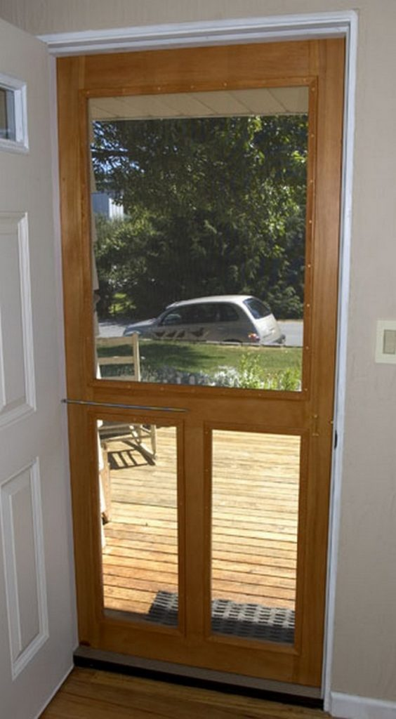 Handmade Screen Door The Owner Builder Network