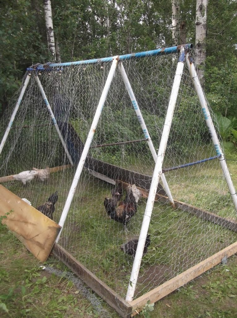 Diy Repurposed Swing Set Chicken Coop The Owner Builder Network