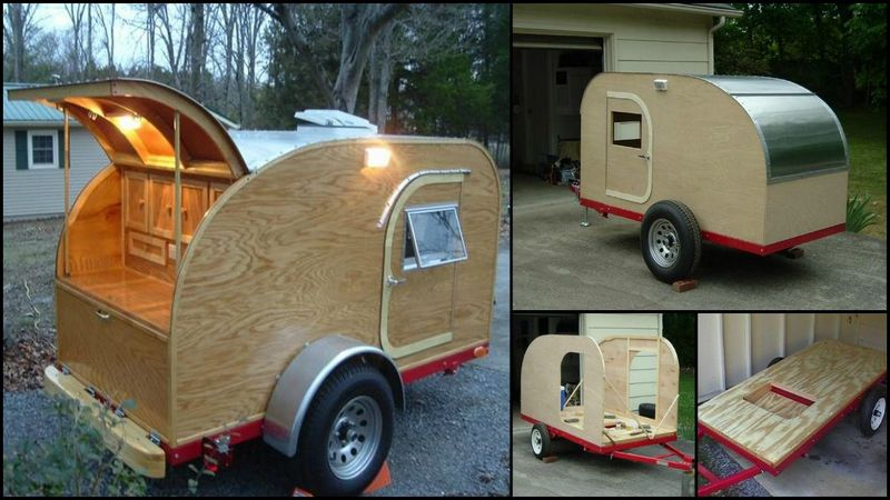 build your own teardrop trailer from the ground up the owner